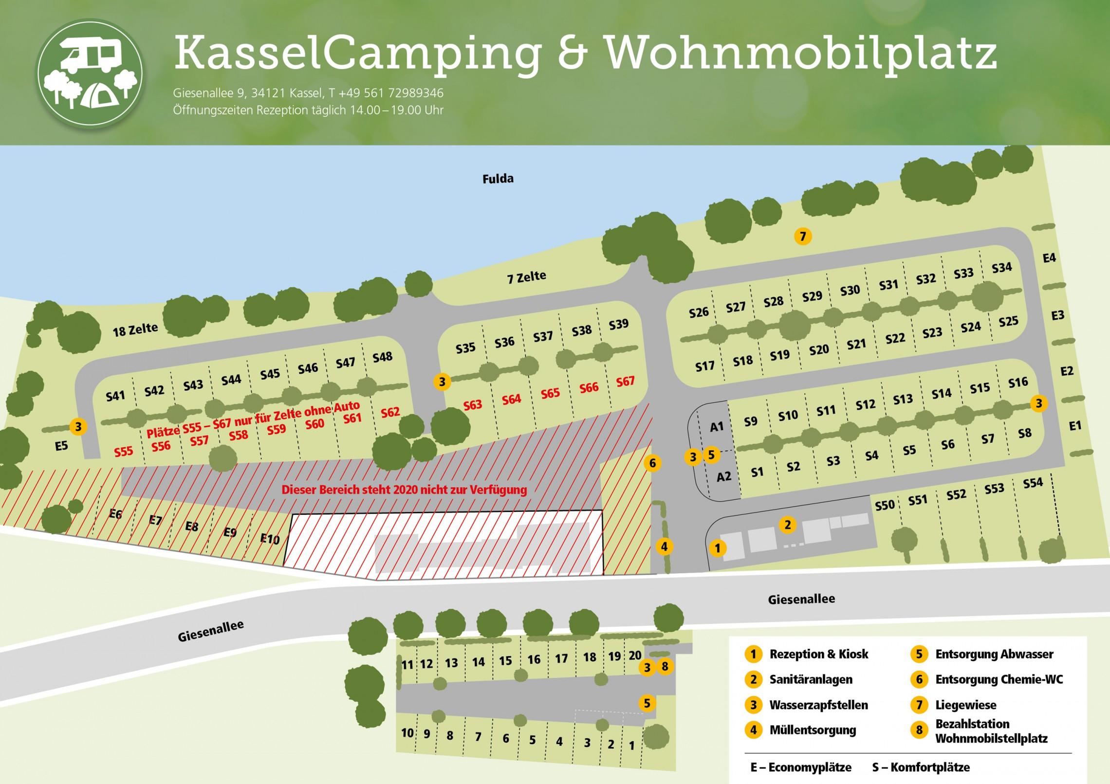 Zeltplätze Hessen